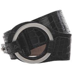 LINDENMANN The Art of Belt Ledergürtel Damen / Gürtel Damen Vollrindledergürtel, schwarz – Bild 1