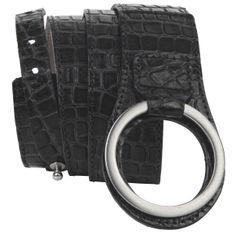 LINDENMANN The Art of Belt Ledergürtel Damen / Gürtel Damen Vollrindledergürtel, schwarz – Bild 2