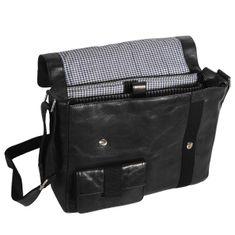 Bruno Banani Business CUBE Postbag, Herren Tasche, Leder glatt, schwarz, BL320-1295 – Bild 2