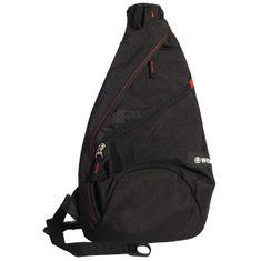 Wenger Rucksack, Sling Bag, Body Bag, Herren / Unisex, schwarz – Bild 1