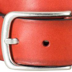 LINDENMANN The Art of Belt Ledergürtel Herren / Gürtel Damen unisex, Vollrindleder, rot – Bild 4