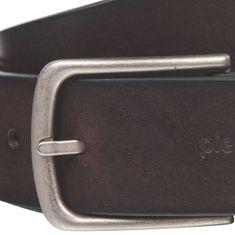 Pierre Cardin Ledergürtel Herren / Gürtel Herren, Vollrind-Ledergürtel mit Kanten-Effekt, schwarz / braun – Bild 9