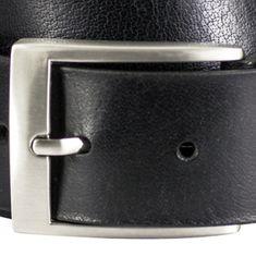 LINDENMANN Ledergürtel Herren / Gürtel Herren, Vollrindleder XL, in 2 Farben, schwarz / dunkelbraun – Bild 7