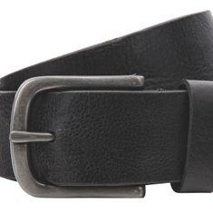 LINDENMANN Ledergürtel Herren / Gürtel Herren, Vollrindleder mit strukturierter Oberfläche XL, in 2 Farben, schwarz / dunkelbraun – Bild 4