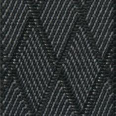LINDENMANN Hosenträger Herren, X-Form, 35 mm, Stretch, XXL, schwarz-grau, 7559-003 – Bild 2