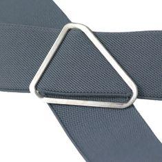 LINDENMANN Hosenträger Herren, X-Form, 35 mm, Stretch, XXL, weiss, 7558-070 – Bild 4