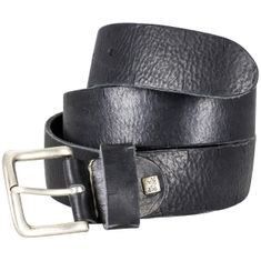 LINDENMANN The Art of Belt Ledergürtel Damen / Ledergürtel Herren, Premium Vollrindledergürtel mit Zierprägung, Unisex, schwarz / natur / dunkelbraun – Bild 5