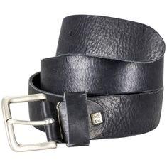LINDENMANN The Art of Belt Ledergürtel Damen / Ledergürtel Herren, Premium Vollrindledergürtel mit Zierprägung, Unisex, schwarz / natur / dunkelbraun – Bild 5