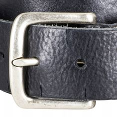 LINDENMANN The Art of Belt Ledergürtel Damen / Ledergürtel Herren, Premium Vollrindledergürtel mit Zierprägung, Unisex, schwarz / natur / dunkelbraun – Bild 7
