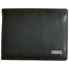 LINDENMANN klassik G.CHABROLLE Portemonnaie / Geldbeutel Herren, Rindleder matt, quer, dunkelbraun – Bild 1