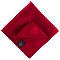 LINDENMANN Einstecktuch / Ziertuch für Herren, rot