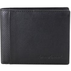 Bruno Banani Portemonnaie / Geldbeutel Herren, Datenschutz Geldbörse RFID Blocker, echt Leder, schwarz – Bild 1
