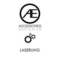 Manschettenknöpfe corporate design mit Laser-Gravur, Edelstahleinlage, im Etui, 2680 – Bild 2