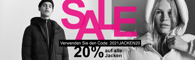20% auf alle reduzierten und nicht reduzierten Jacken im Henschel-Online Shop. Wir haben eine große Auswahl für Damen und Herren.