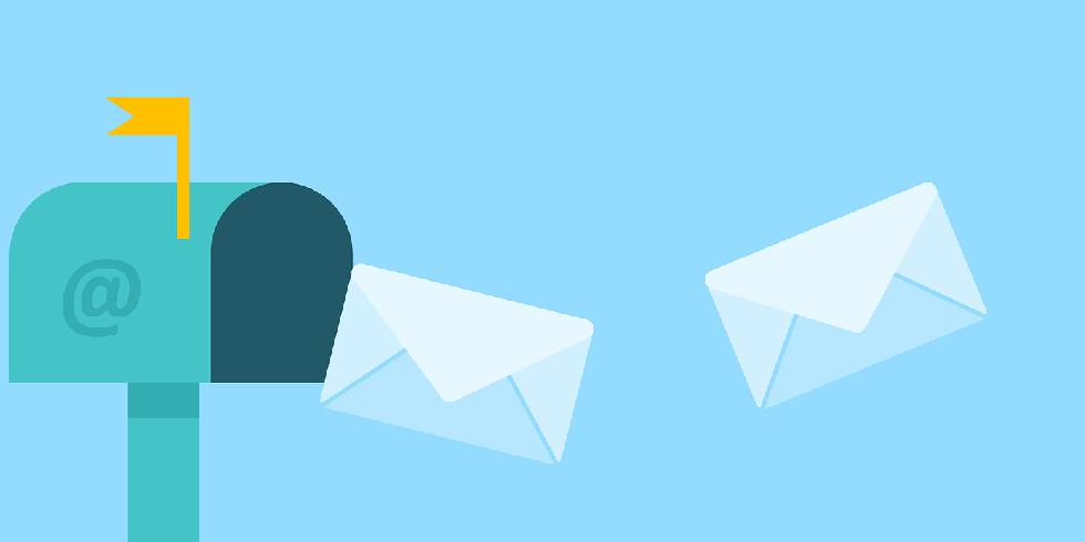 Wir sind per Mail für Sie da!