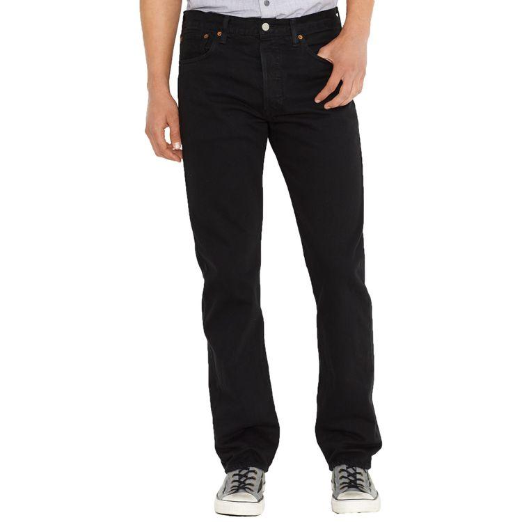 Levi's® Herren Jeans 501® Original Straight Fit Black