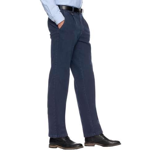 EUREX Herren Jeans FRED Regular Fit Blue Comfort Stretch