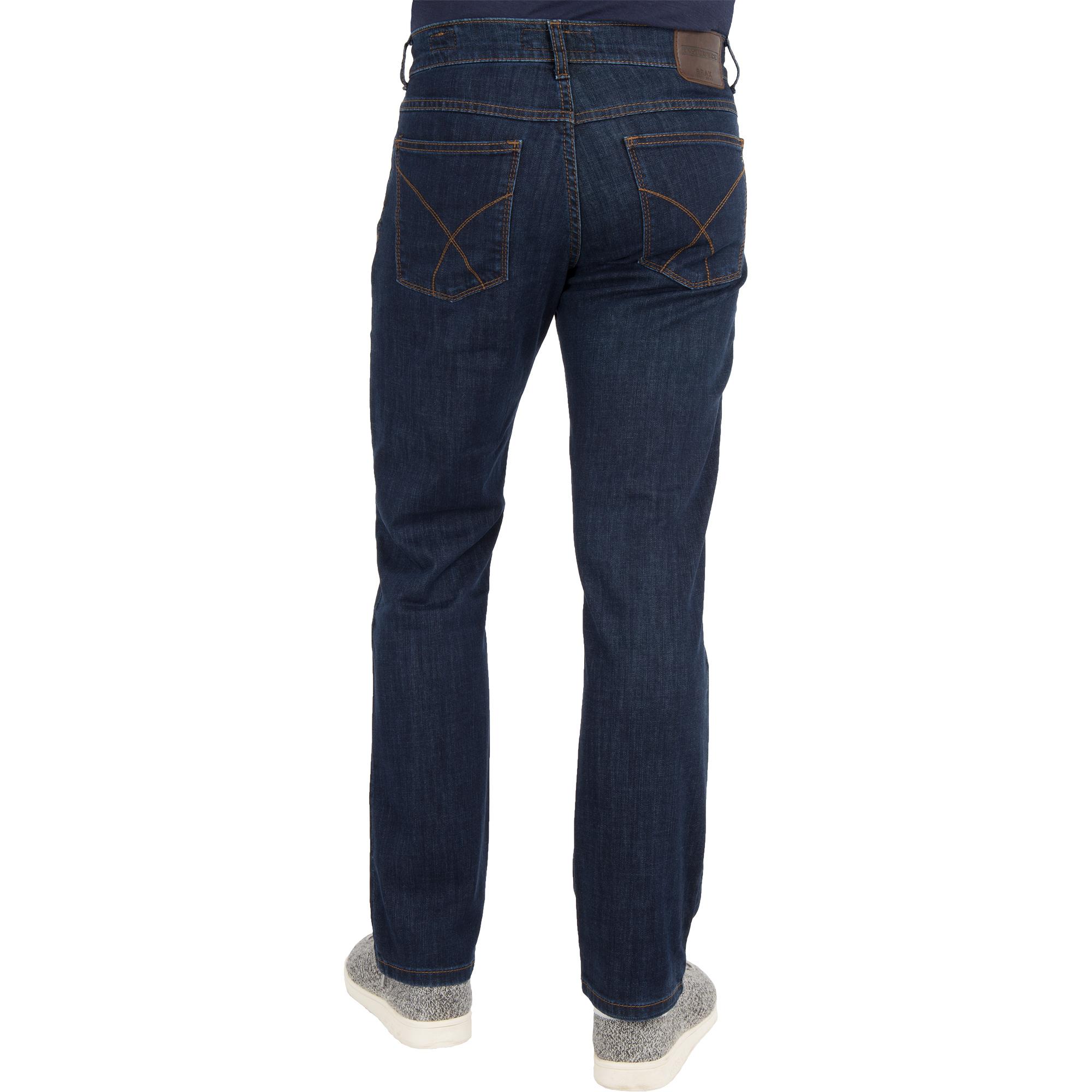 brax herren jeans cooper denim regular fit blue black. Black Bedroom Furniture Sets. Home Design Ideas