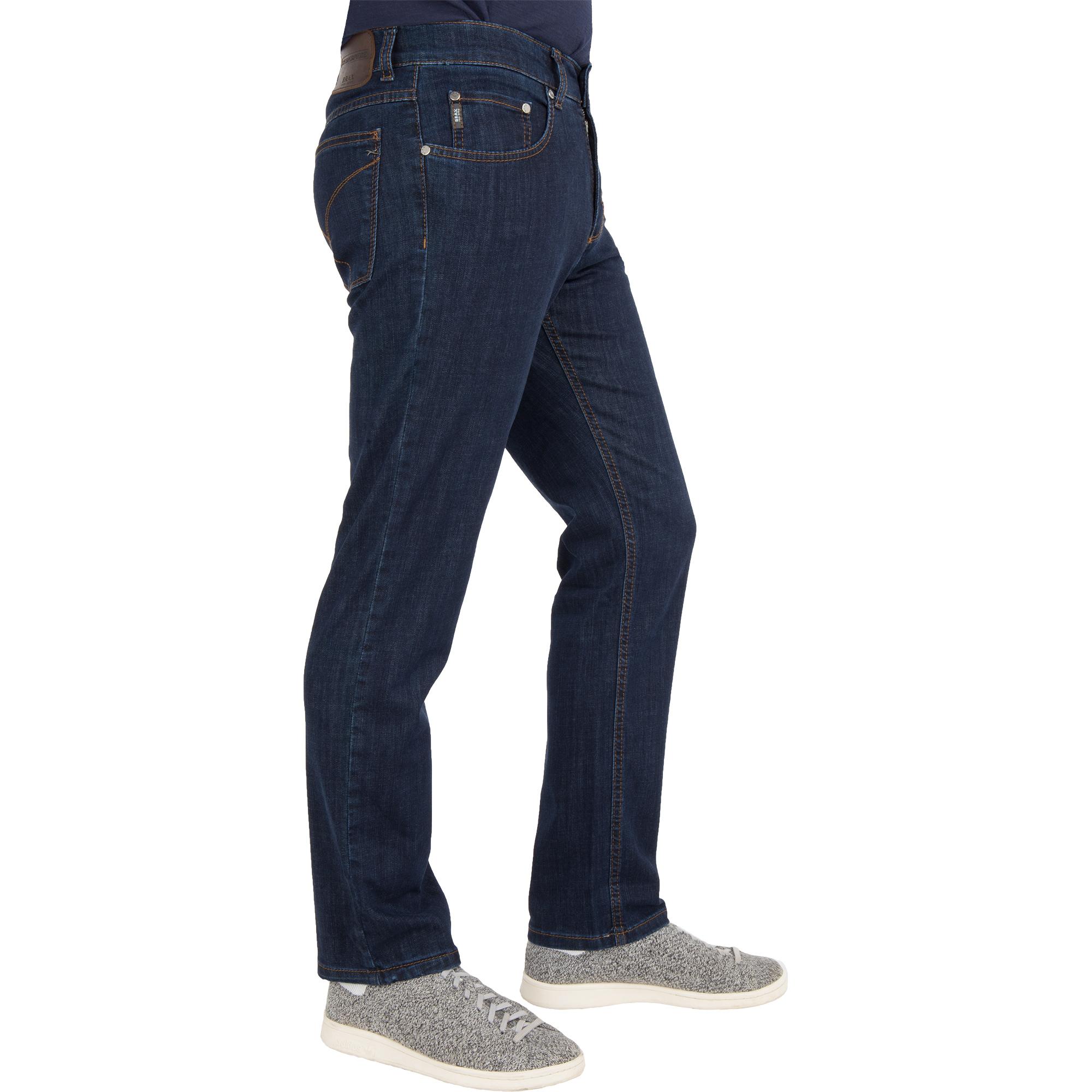 brax herren jeans cooper denim regular fit blue black brax. Black Bedroom Furniture Sets. Home Design Ideas