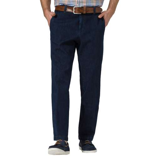 EUREX Herren Jeans JIM Regular Fit Deep Blue Comfort Stretch
