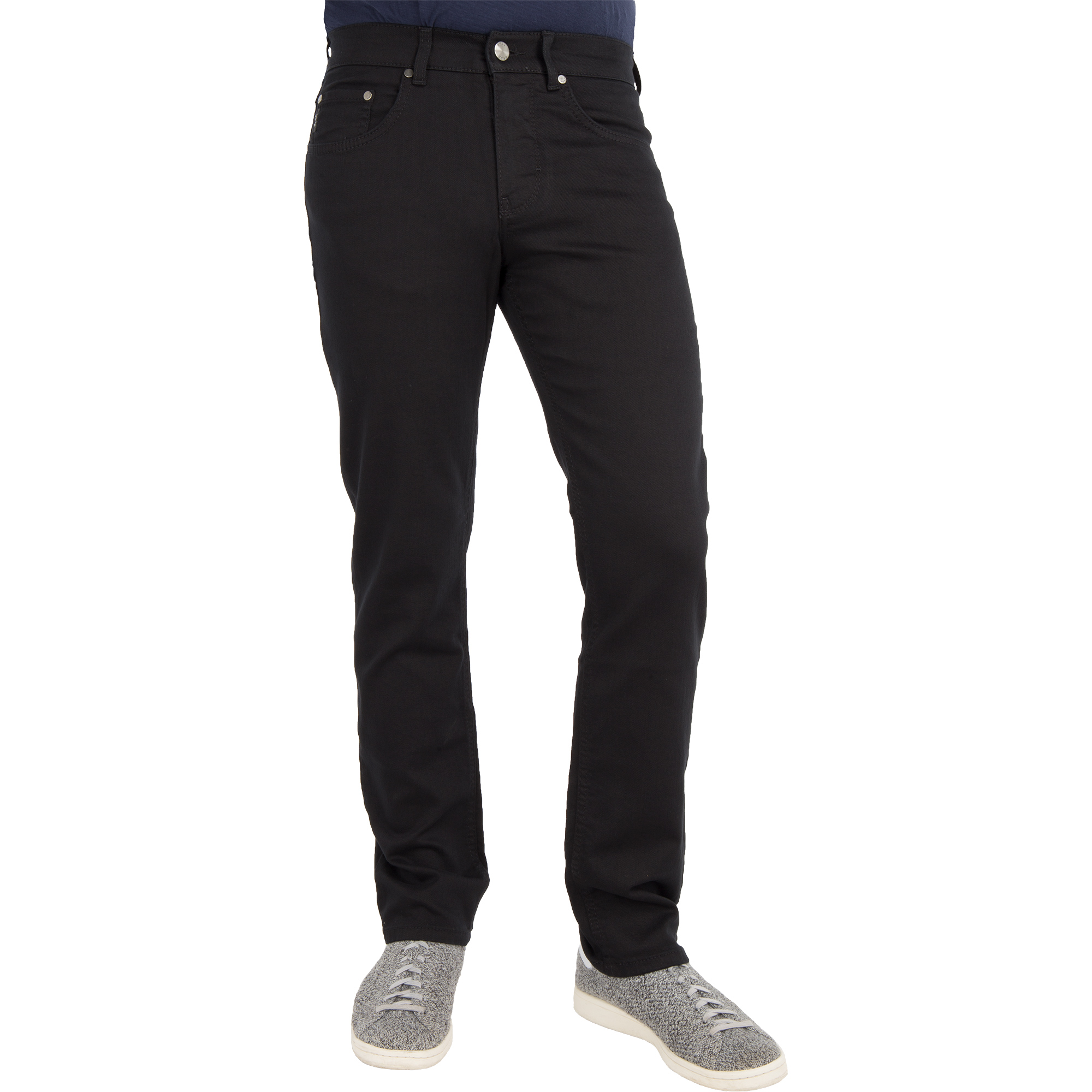 brax herren jeans cooper denim regular fit perma black. Black Bedroom Furniture Sets. Home Design Ideas