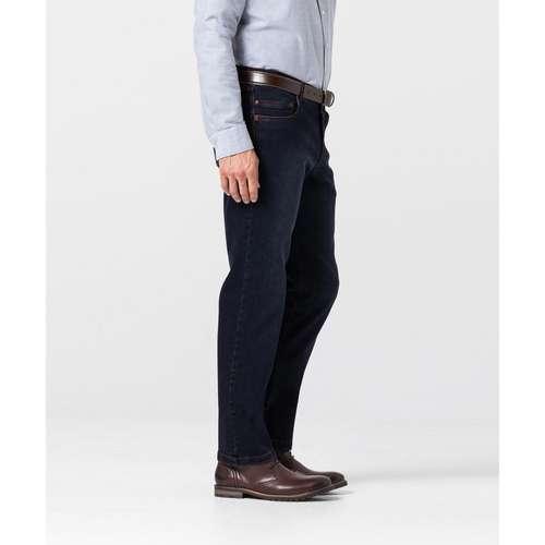 EUREX Herren Jeans PEP Regular Fit Blue Black Comfort Stretch