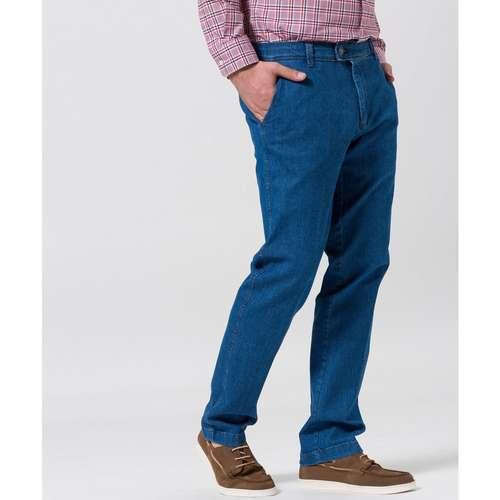 EUREX Herren Jeans JIM Regular Fit Blue Comfort Stretch