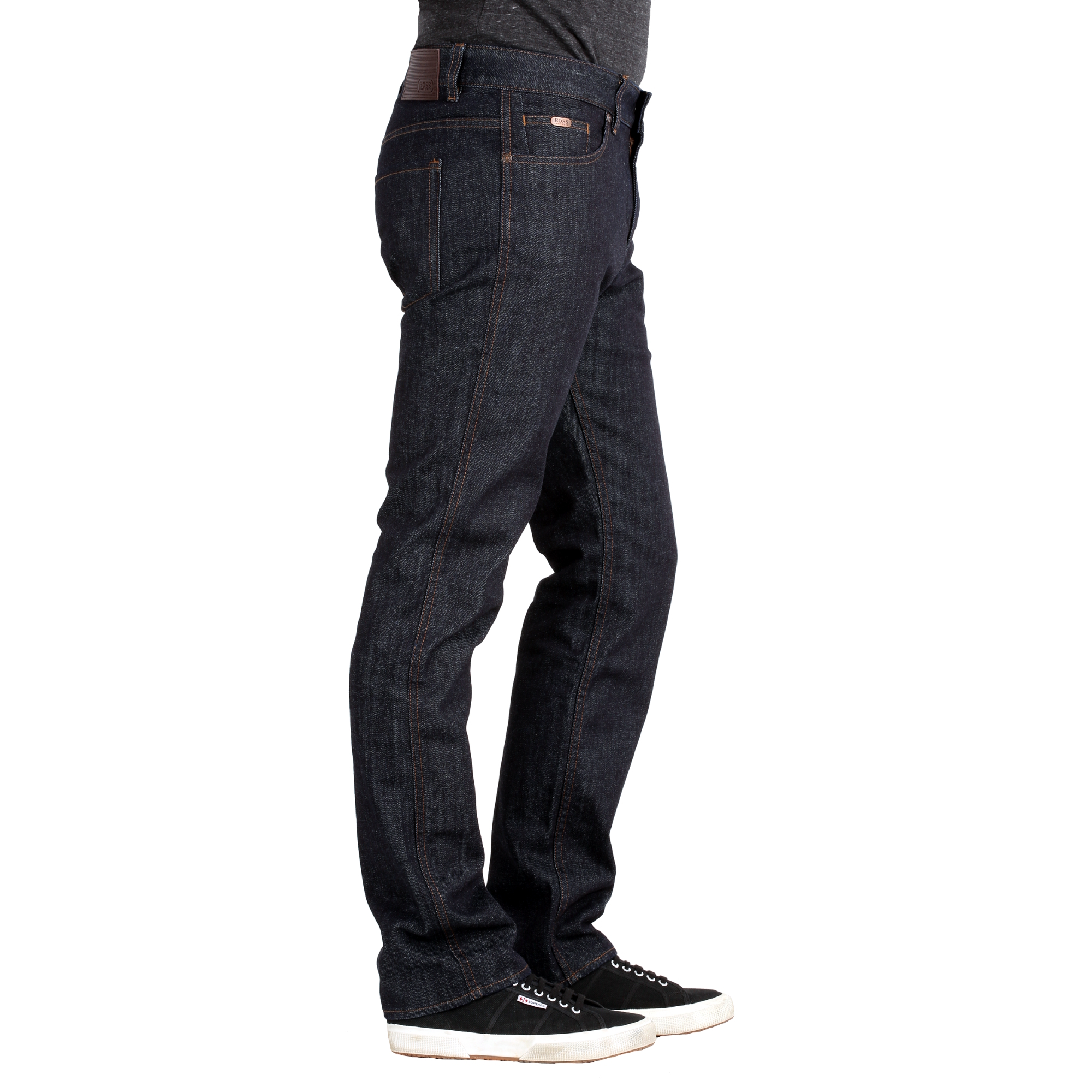 hugo boss herren jeans delaware1 slim fit rinse hugo boss online kaufen. Black Bedroom Furniture Sets. Home Design Ideas