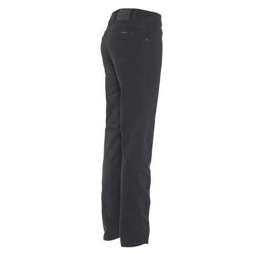 Alberto Herren Jeans Pipe Regular Slim Fit T400® Black