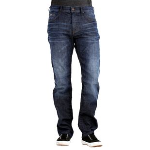 HUGO BOSS Herren Jeans MAINE1 Regular Fit Dark Used