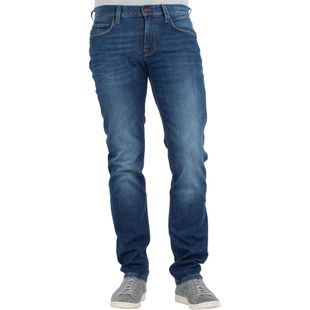 Tommy Hilfiger Herren Jeans Denton Straight Fit New Mid Stone