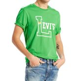 Levi's® Herren T-Shirt Graphic Tee Rainbow Medium Green