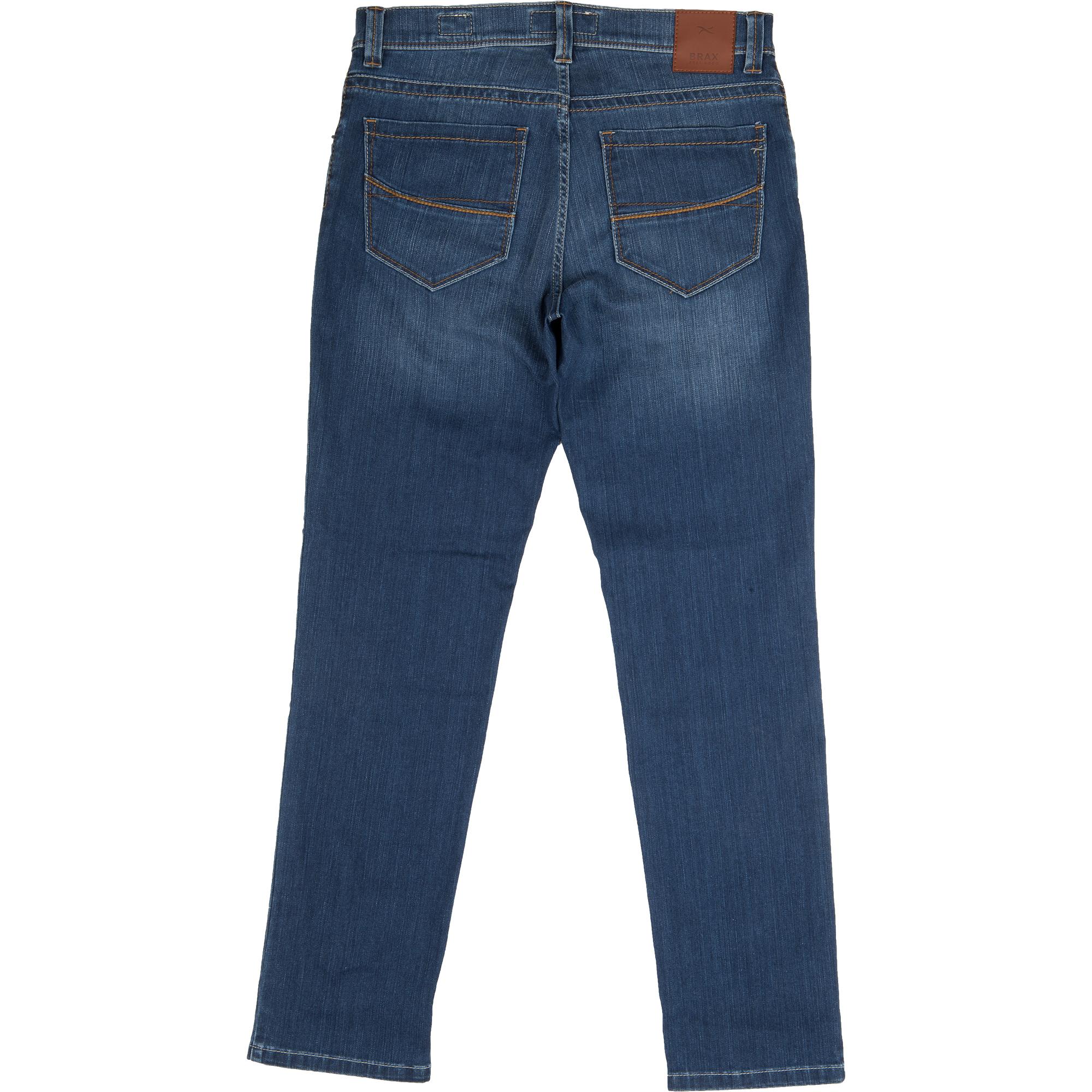 brax herren jeanshose cadiz regular fit regular blue used. Black Bedroom Furniture Sets. Home Design Ideas