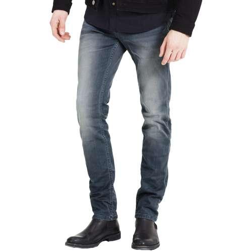 Jack & Jones Herren Jeans Tim Leon Slim Fit Grey Denim