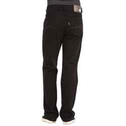 Joker Herren Jeans Clark Straight Fit Double Saddle Stitched Black