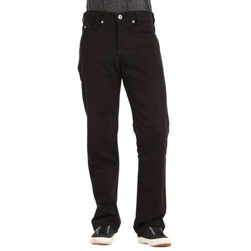 Joker Herren Jeans Clark Straight Fit Double Saddle Stitched Black
