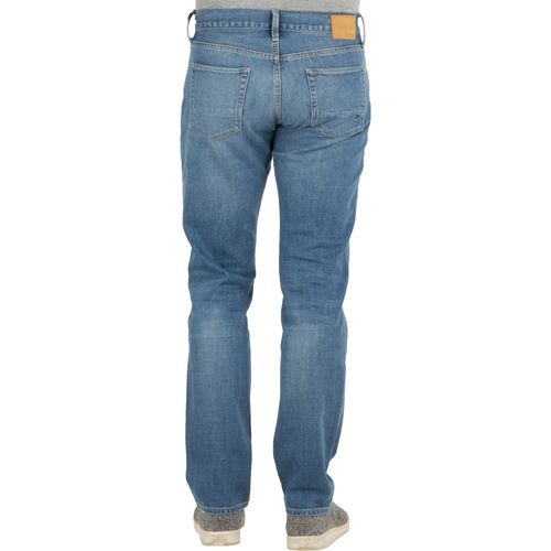 Tommy Hilfiger Herren Jeans Denton Straight Fit Bartow Blue Stretch