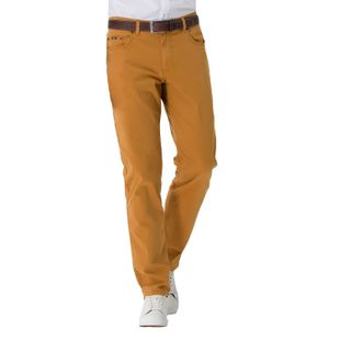 BRAX Herren Hose COOPER FANCY Regular Fit Prestige Safran