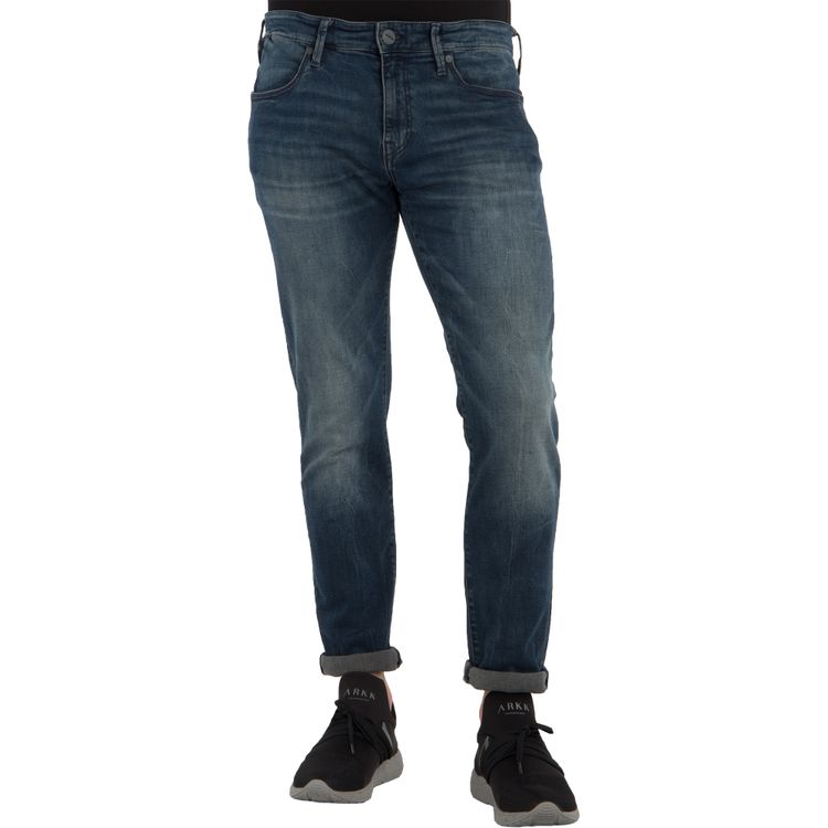 Mavi Herren Jeans JAMES Skinny Fit Ink Brushed Ultra Move Stretch
