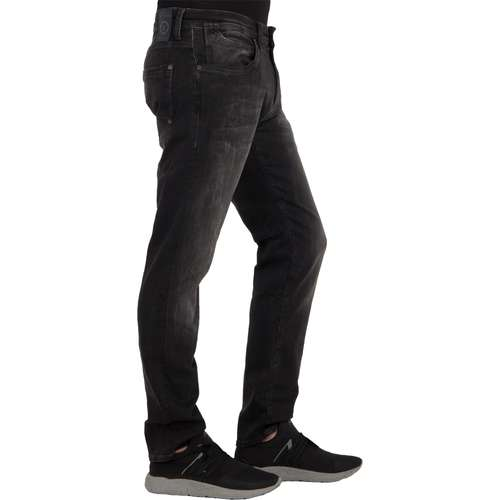 Mavi Herren Jeans MARCUS Slim Fit Dark Grey Smoke Ultra Move Stretch