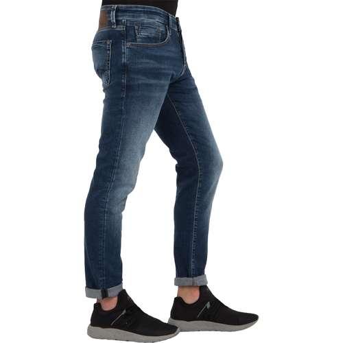 Mavi Herren Jeans YVES Slim Skinny Fit Indigo Blue Comfort Stretch