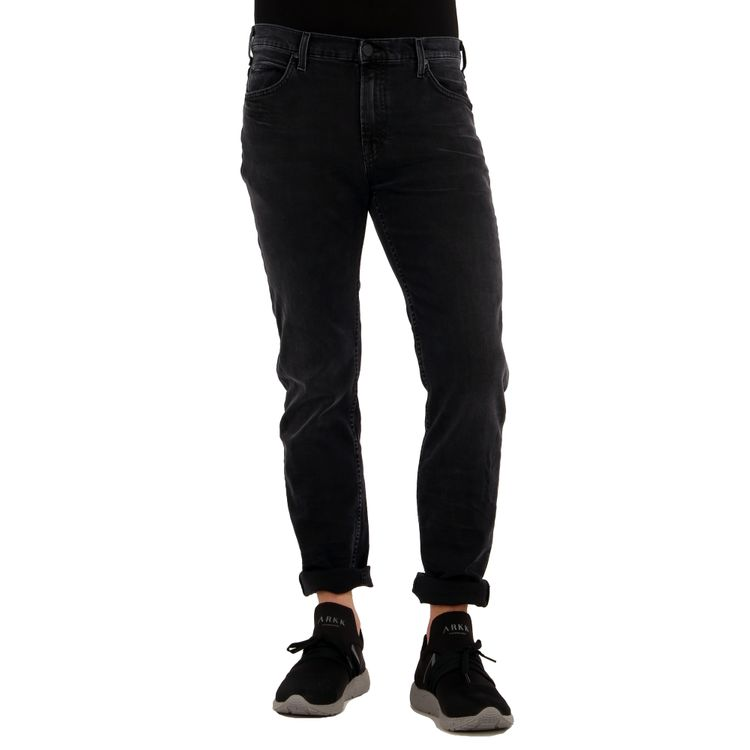 Lee Herren Jeans RIDER Slim Fit Dark Raven Stretch