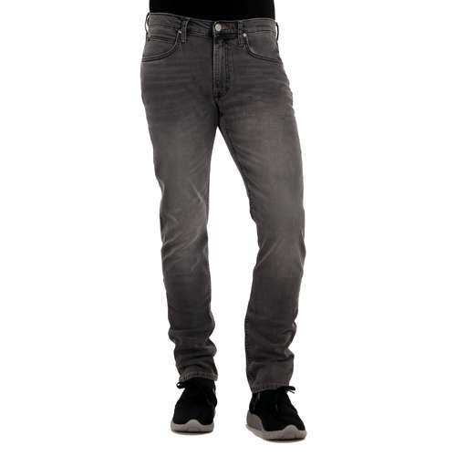 Lee Herren Jeans LUKE Slim Tapered Fit Black Lead Stretch