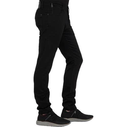 Mavi Herren Jeans YVES Slim Skinny Fit Black Coated Ultra Move Stretch