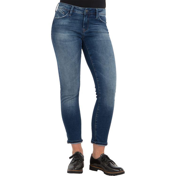Mavi Damen Jeans SOPHIE ANKLE Slim Skinny Fit Deep Brushed Uptown Stretch