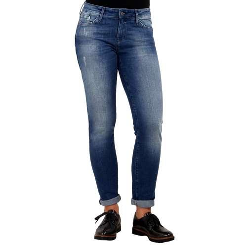 Mavi Damen Jeans NICOLE Super Skinny Fit Mid Brushed Uptown Stretch