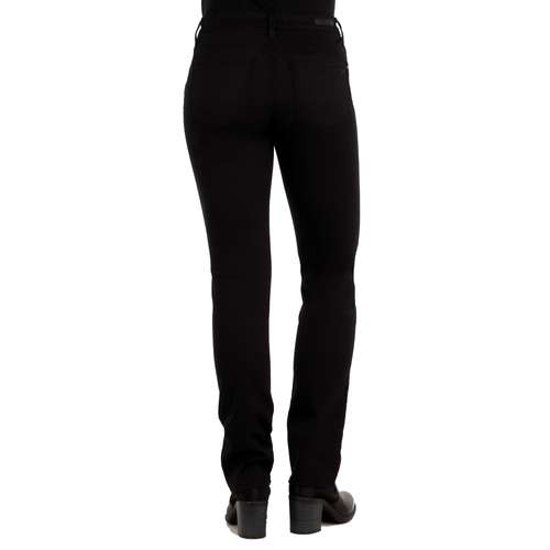Mavi Damen Jeans KENDRA Straight Fit Black Lurex Fancy Stretch