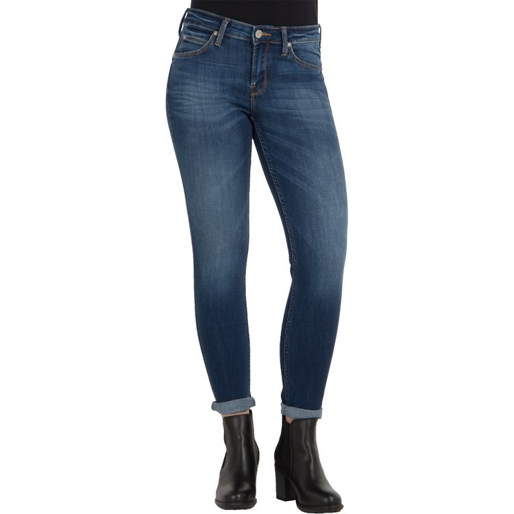 Lee Damen Jeans SCARLETT Skinny Fit Night Sky Stretch