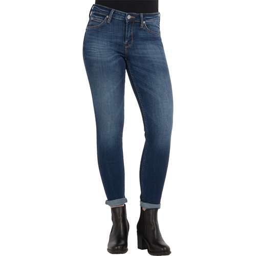 Lee Damen Jeans SCARLETT Skinny Fit Night Sky Stretch