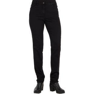 BRAX Damen Jeans MARY Slim Fit Crystal Romance Clean Black Stretch